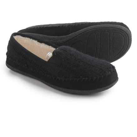Daniel Green Gildy Slippers (For Women) in Black - Closeouts