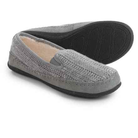 Daniel Green Gildy Slippers (For Women) in Gray - Closeouts