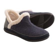 Daniel Green Harper Slippers - Boiled Wool (For Women) in Denim Blue - Closeouts