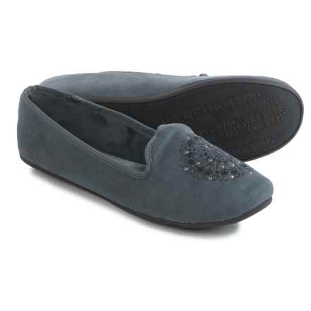 Daniel Green Madge Slippers (For Women) in Charcoal - Closeouts