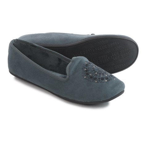 Daniel Green Madge Slippers (For Women) in Charcoal