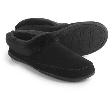 Daniel Green Mirabel Slippers - Suede (For Women) in Black - Closeouts