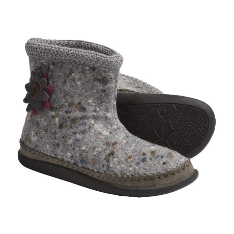 Daniel Green Piper Slipper Boots - Wool, Fleece-Lined (For Women) in Blue