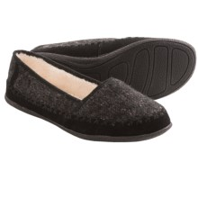 Daniel Green Salena Knit Slippers (For Women) in Black - Closeouts