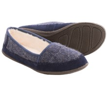 Daniel Green Salena Knit Slippers (For Women) in Blue - Closeouts