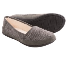 Daniel Green Salena Knit Slippers (For Women) in Grey - Closeouts