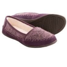 Daniel Green Salena Knit Slippers (For Women) in Purple - Closeouts