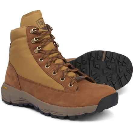 "Danner 6"" Explorer 650 Hiking Boots - Waterproof (For Women) in Khaki/Full Grain"