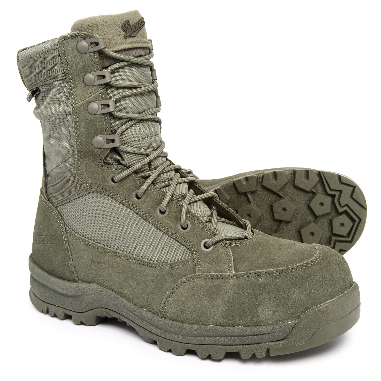 "1e31b3cc833 Danner 8"" Tanicus Military Work Boots - Composite Safety Toe, Waterproof  (For Men)"