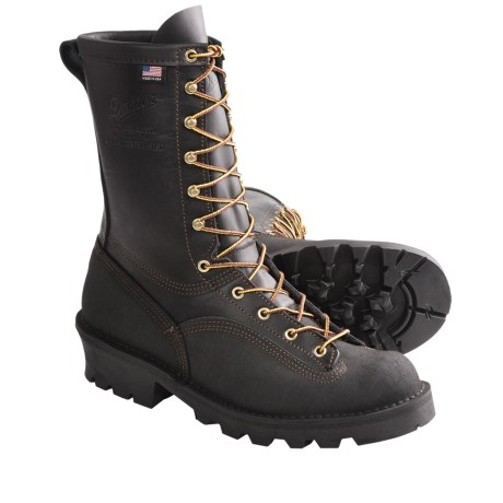 "Danner Flashpoint II 10"" Fire Work Boots - Leather (For Men) in Black"