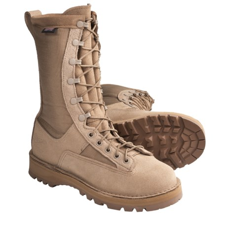 "Danner Fort Lewis Light Gore-Tex® Military Boots - 10"", Waterproof (For Women) in Tan"
