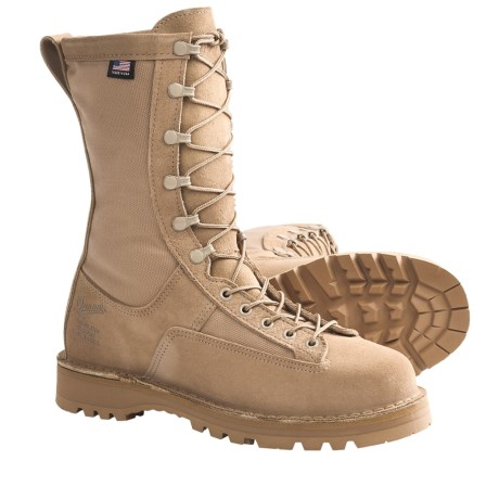 "Danner Fort Lewis Light Gore-Tex® Military Boots - Waterproof, 10"" (For Men) in Tan"