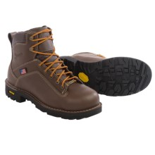 Danner Quarry Gore-Tex® Safety Toe Work Boots - Waterproof, Leather (For Men) in Brown - Closeouts