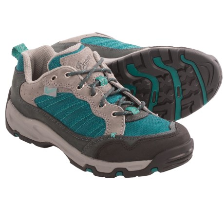 Danner Sobo Low Trail Shoes (For Women) in Grey/Blue