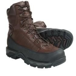 "Danner Vandal Gore-Tex® 8"" Plain Toe Work Boots - Waterproof, Leather (For Men) in Brown/Black"