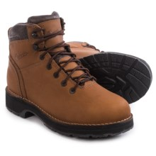 "Danner Workman Gore-Tex® 6"" Work Boots - Waterproof, Alloy Toe (For Men) in Brown - Closeouts"