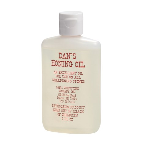 Dan's Whetstone Honing Oil Bottle - 3 fl.oz.
