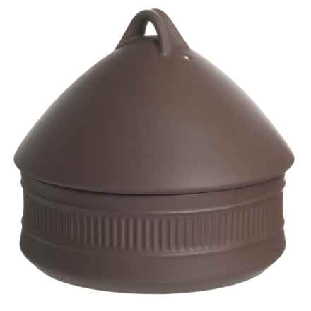 Dansk Flamestone Beehive Covered Casserole Dish - 2 qt., Ceramic in Brown - Closeouts