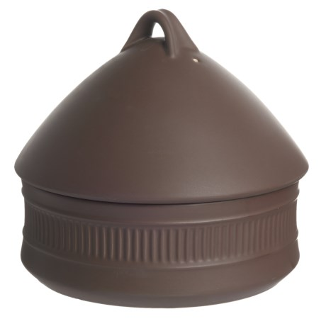 Dansk Flamestone Beehive Covered Casserole Dish - 2 qt., Ceramic in Brown