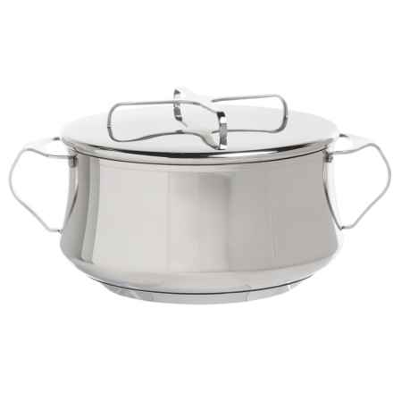 Dansk Kobenstyle Casserole Dish with Lid - 4 qt., Stainless Steel in Stainless Steel - Closeouts