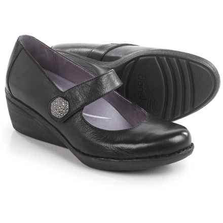 Dansko Adelle Mary Jane Shoes - Leather (For Women) in Black - Closeouts