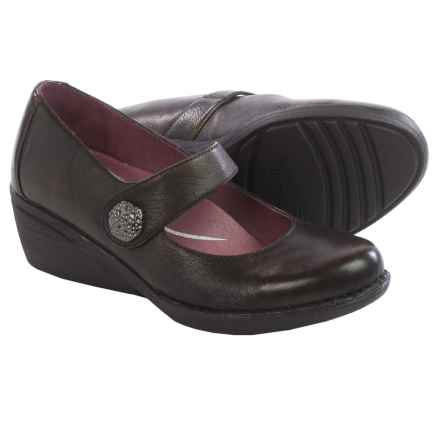 Dansko Adelle Mary Jane Shoes - Leather (For Women) in Brown - Closeouts