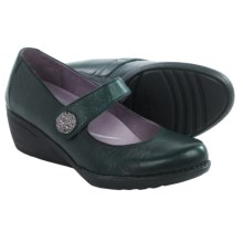 Dansko Adelle Mary Jane Shoes - Leather (For Women) in Teal - Closeouts