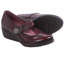 Dansko Adelle Mary Jane Shoes - Leather (For Women) in Wine - Closeouts