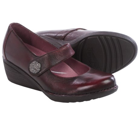 Dansko Adelle Mary Jane Shoes Leather (For Women)