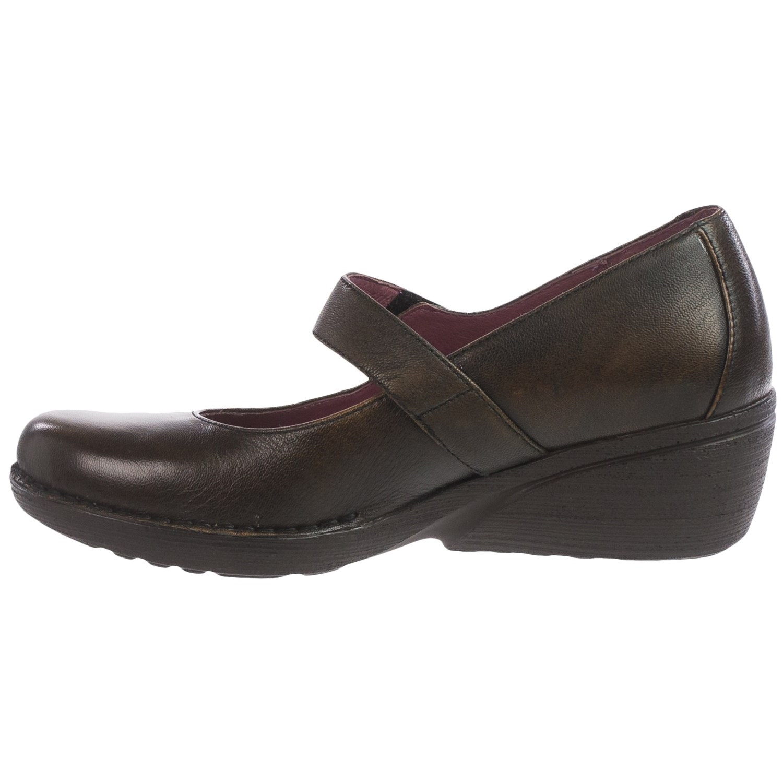 Dansko Adelle Mary Jane Shoes Leather For Women