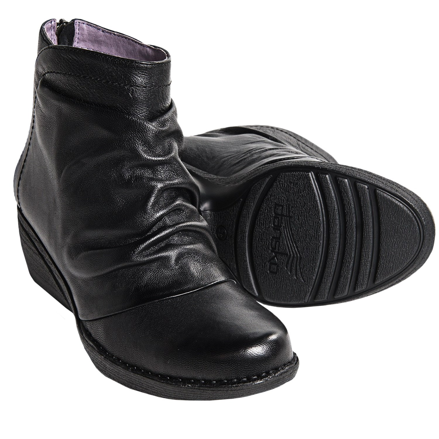 dansko arisa leather ankle boots for save 44