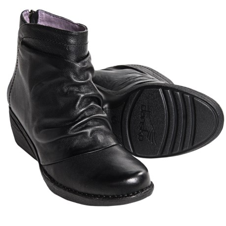 Dansko Arisa Leather Ankle Boots (For Women)