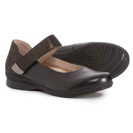 Dansko Audrey Mary Jane Shoes (For Women) in Black Nappa - Closeouts
