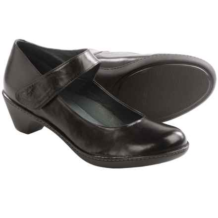 Dansko Bess Mary Jane Shoes - Leather (For Women) in Black - Closeouts