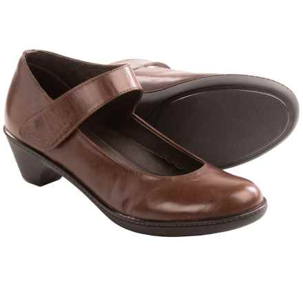 Dansko Bess Mary Jane Shoes - Leather (For Women) in Brown - Closeouts