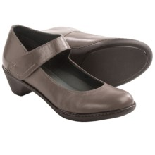 Dansko Bess Mary Jane Shoes - Leather (For Women) in Grey - Closeouts