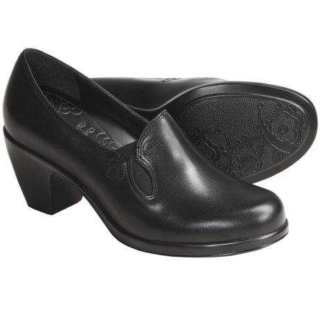 Dansko Beth Shoes - Leather, Slip-Ons (For Women) in Black