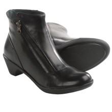 Dansko Billie Side Zip Boots (For Women) in Black - Closeouts