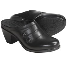 Dansko Blake Clogs - Leather (For Women) in Black - Closeouts
