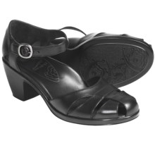 Dansko Bliss Sandals - Nappa Leather (For Women) in Black - Closeouts