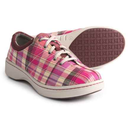 Dansko Brandi Sneakers (For Women) in Pink Madras - Closeouts