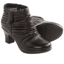 Dansko Buffy Ankle Boots (For Women) in Black Nappa - Closeouts