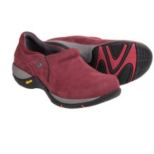 Dansko Celeste Shoes -Waterproof, Nubuck (For Women) in Wine Milled Nubuck - Closeouts