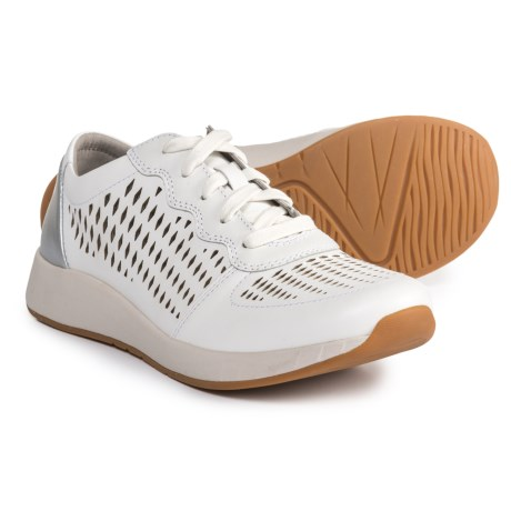 Dansko Charlie Sneakers - Leather (For Women) in White Leather