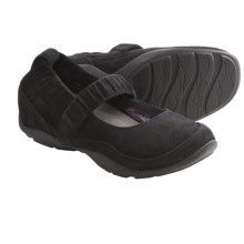 Dansko Chrissy Mary Jane Shoes - Leather  (For Women) in Black Kid Suede - Closeouts