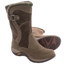 Dansko Cynthia Boots - Waterproof, Leather (For Women) in Brown Milled Nubuck - Closeouts