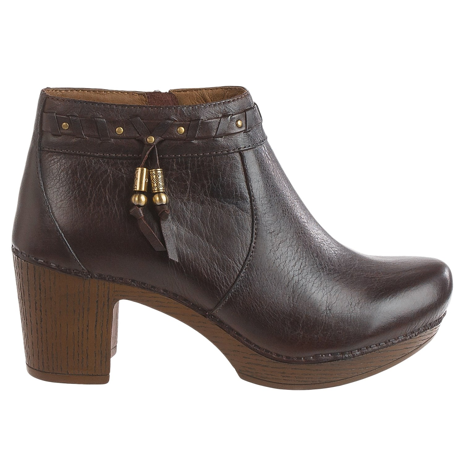 Dansko Dabney Ankle Boots - Leather (For Women) - Dansko Dabney Ankle Boots (For Women) - Save 31%