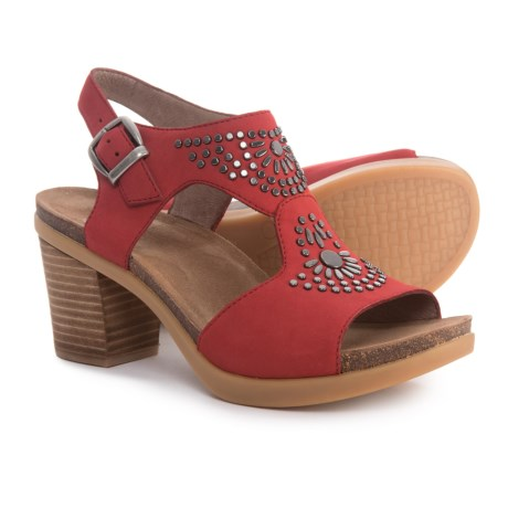 Dansko Deandra Sandals - Nubuck (For Women)