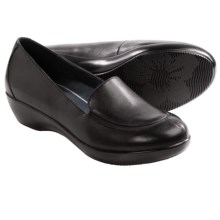 Dansko Debra Shoes - Leather, Slip-Ons (For Women) in Black Nappa - Closeouts