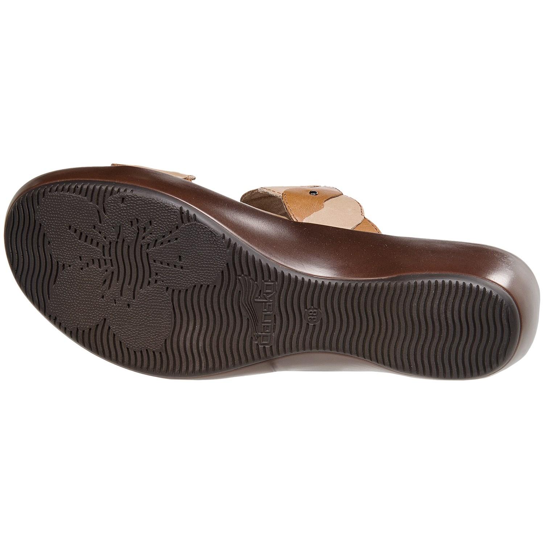 Black dansko sandals - Dansko Dee Leather Sandals For Women